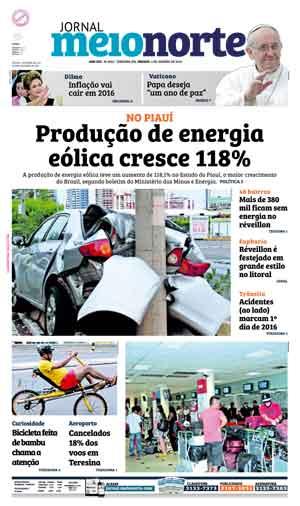 Jornal Meio Norte do dia 2-01-2016