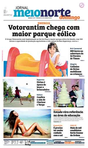 Jornal Meio Norte do dia 17-01-2016