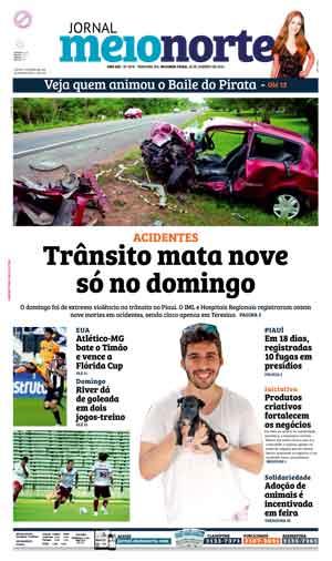 Jornal Meio Norte do dia 18-01-2016