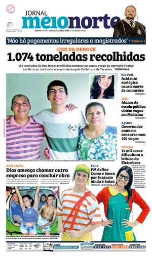 Jornal Meio Norte do dia 19-01-2016
