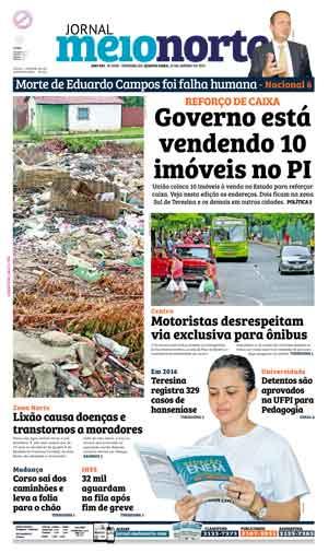 Jornal Meio Norte do dia 20-01-2016