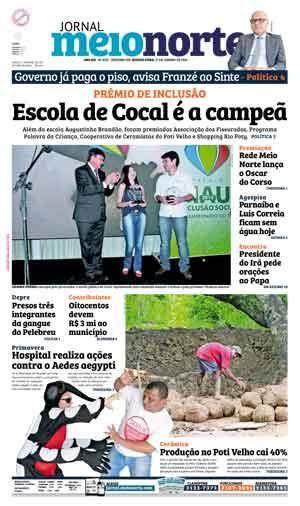 Jornal Meio Norte do dia 27-01-2016