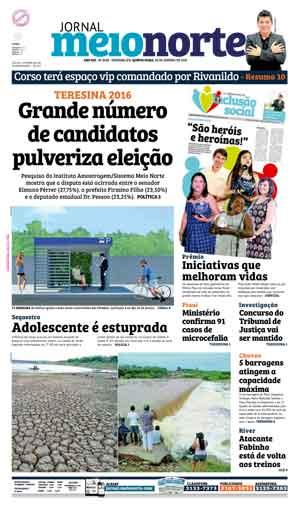 Jornal Meio Norte do dia 28-01-2016