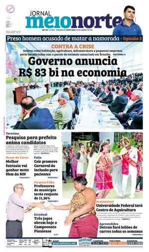 Jornal Meio Norte do dia 29-01-2016