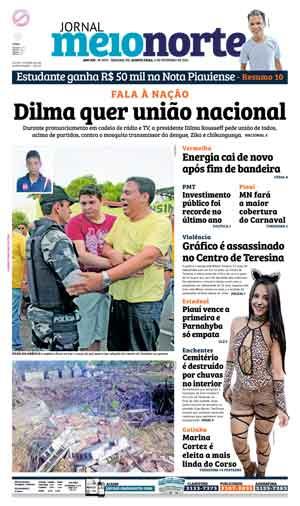 Jornal Meio Norte do dia 4-02-2016