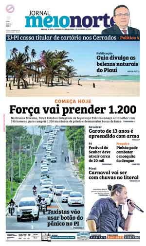 Jornal Meio Norte do dia 5-02-2016