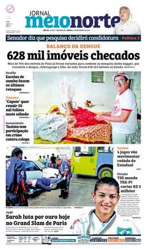 Jornal Meio Norte do dia 6-02-2016