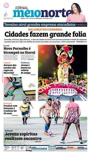 Jornal Meio Norte do dia 9-02-2016