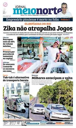 Jornal Meio Norte do dia 10-02-2016