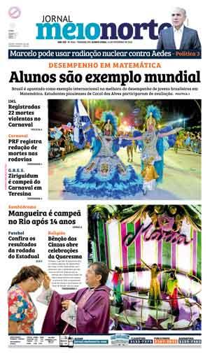 Jornal Meio Norte do dia 11-02-2016