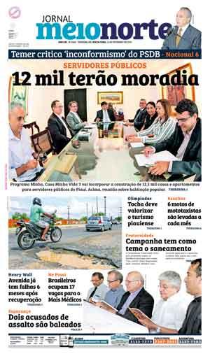 Jornal Meio Norte do dia 12-02-2016