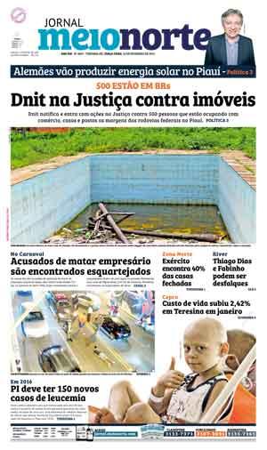 Jornal Meio Norte do dia 16-02-2016