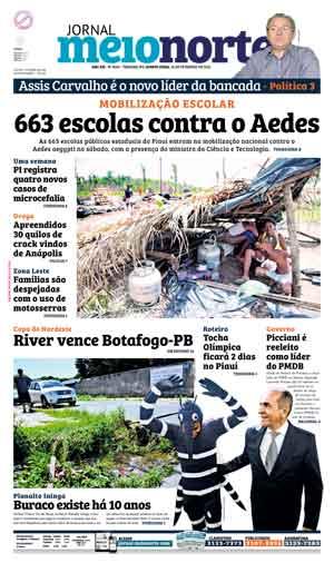 Jornal Meio Norte do dia 18-02-2016