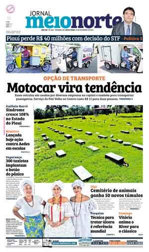 Jornal Meio Norte do dia 19-02-2016