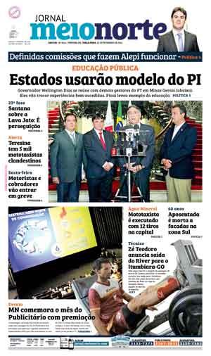 Jornal Meio Norte do dia 23-02-2016