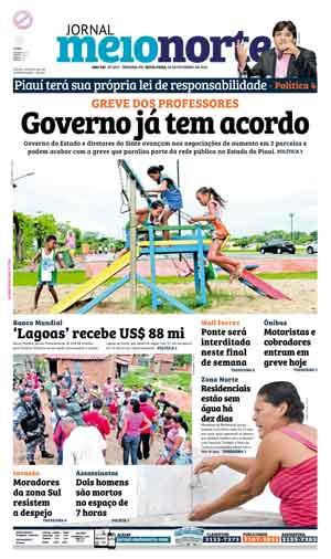 Jornal Meio Norte do dia 26-02-2016