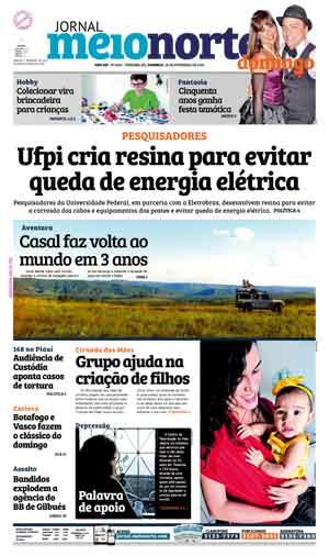 Jornal Meio Norte do dia 28-02-2016