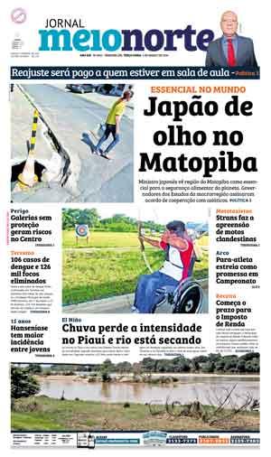 Jornal Meio Norte do dia 1-03-2016