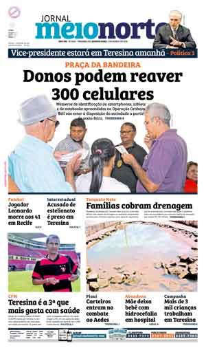 Jornal Meio Norte do dia 2-03-2016