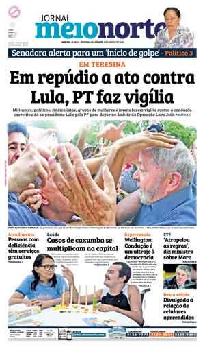 Jornal Meio Norte do dia 5-03-2016