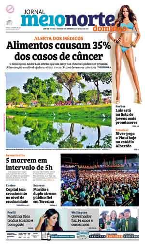 Jornal Meio Norte do dia 6-03-2016