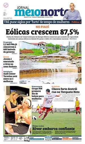 Jornal Meio Norte do dia 9-03-2016