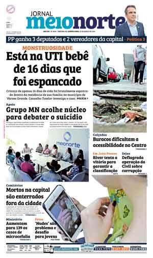 Jornal Meio Norte do dia 10-03-2016