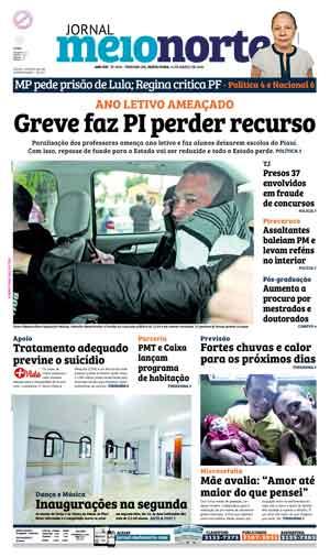 Jornal Meio Norte do dia 11-03-2016