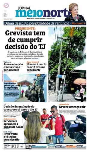 Jornal Meio Norte do dia 12-03-2016