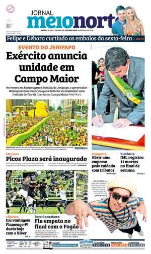 Jornal Meio Norte do dia 14-03-2016