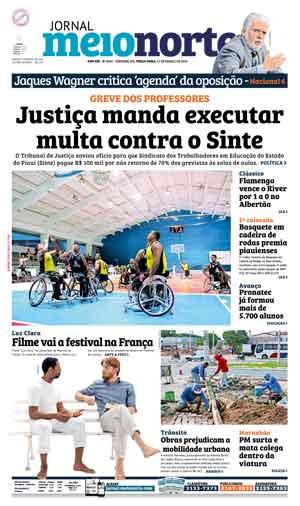 Jornal Meio Norte do dia 15-03-2016