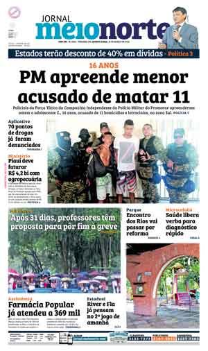 Jornal Meio Norte do dia 16-03-2016