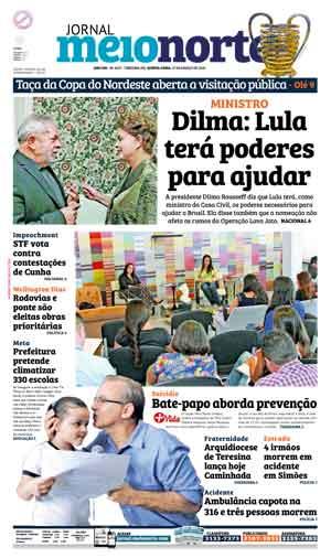 Jornal Meio Norte do dia 17-03-2016