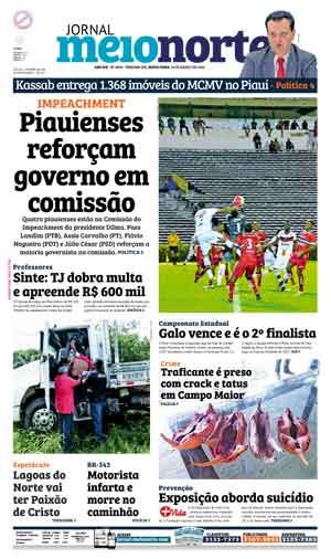 Jornal Meio Norte do dia 18-03-2016