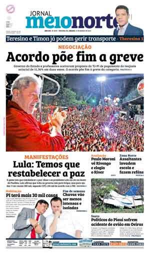 Jornal Meio Norte do dia 19-03-2016