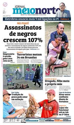 Jornal Meio Norte do dia 23-03-2016