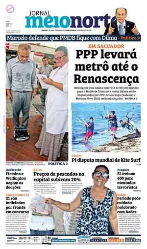 Jornal Meio Norte do dia 24-03-2016