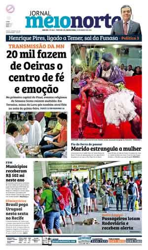 Jornal Meio Norte do dia 25-03-2016
