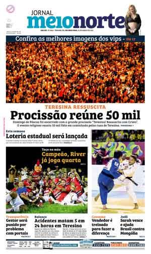 Jornal Meio Norte do dia 28-03-2016