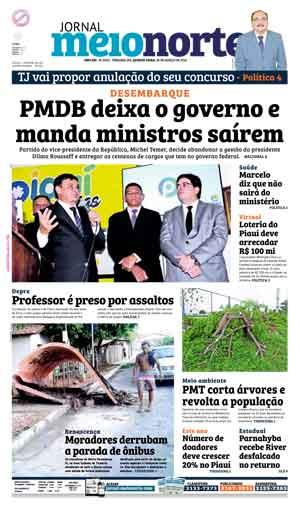 Jornal Meio Norte do dia 30-03-2016