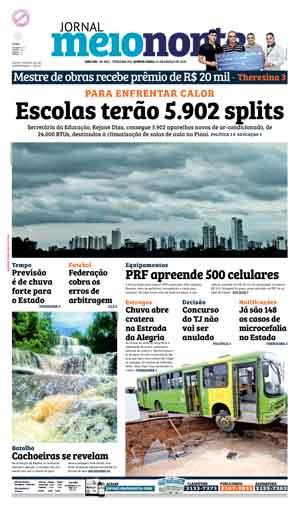 Jornal Meio Norte do dia 31-03-2016