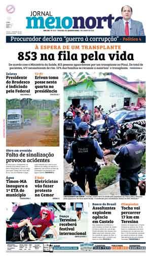 Jornal Meio Norte do dia 1-06-2016
