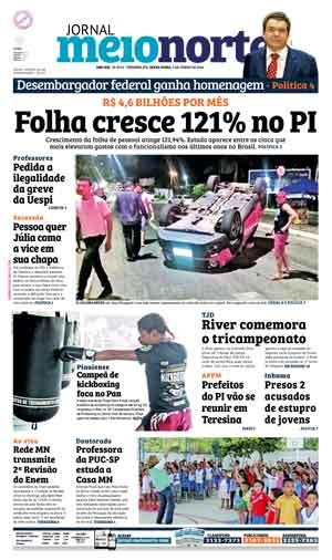 Jornal Meio Norte do dia 3-06-2016