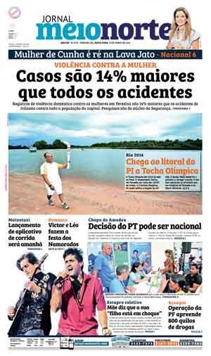 Jornal Meio Norte do dia 10-06-2016