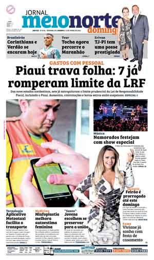 Jornal Meio Norte do dia 12-06-2016