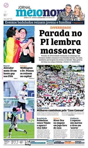 Jornal Meio Norte do dia 13-06-2016