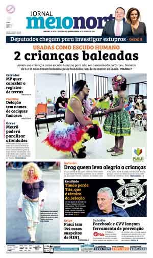 Jornal Meio Norte do dia 16-06-2016