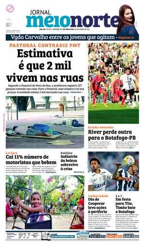Jornal Meio Norte do dia 20-06-2016
