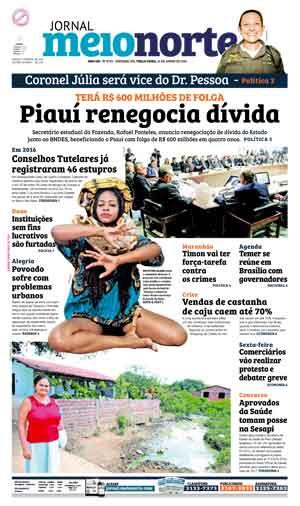 Jornal Meio Norte do dia 21-06-2016