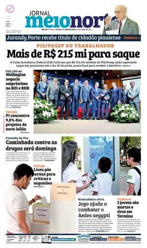 Jornal Meio Norte do dia 22-06-2016